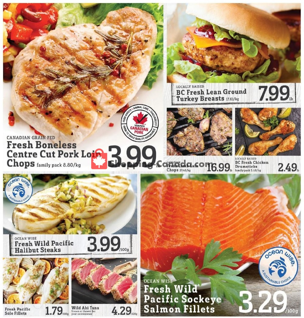 Flyer Fresh St. Market Canada - from Friday August 9, 2019 to Thursday August 15, 2019