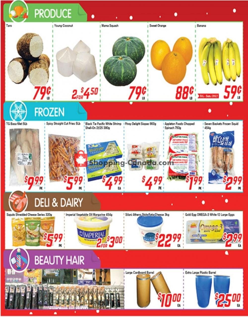 Flyer Fresh Value Canada - from Friday January 10, 2020 to Thursday January 16, 2020
