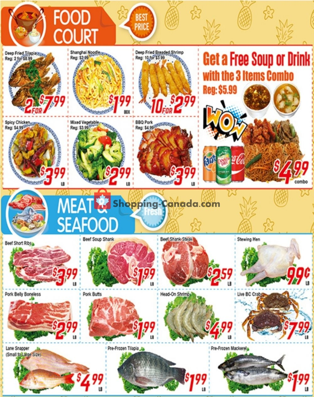 Flyer Fresh Value Canada - from Friday July 12, 2019 to Thursday July 18, 2019