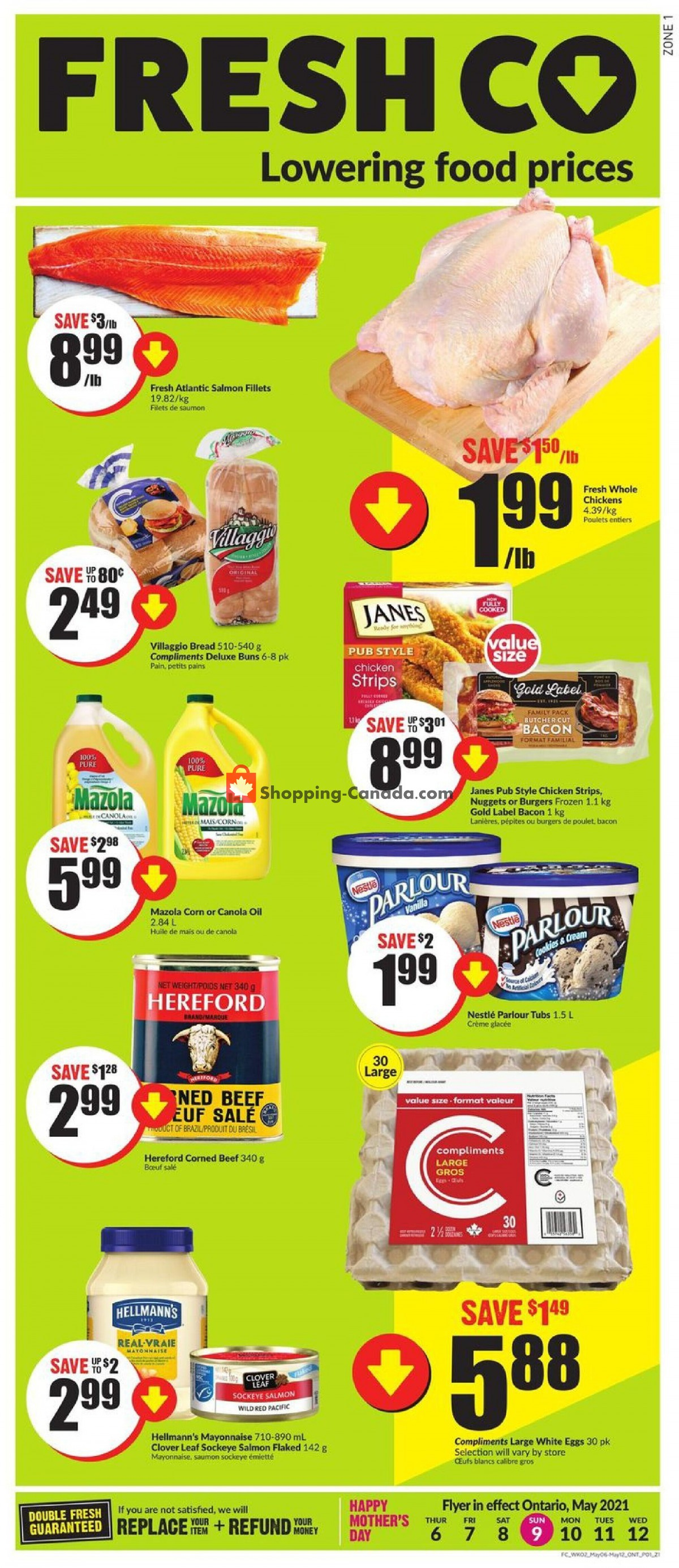 Flyer FreshCo Canada - from Thursday May 6, 2021 to Wednesday May 12, 2021