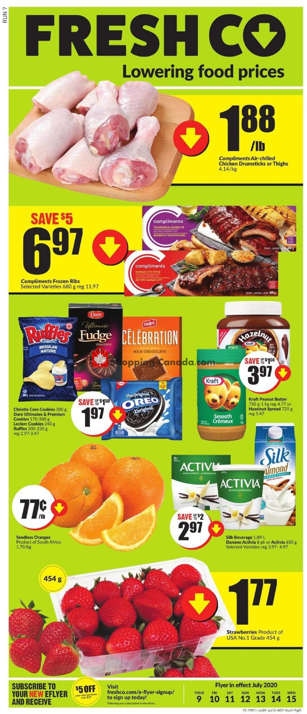 Flyer FreshCo Canada - from Thursday July 9, 2020 to Wednesday July 15, 2020