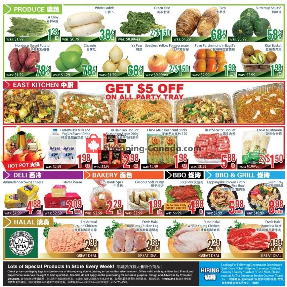 Flyer FreshLand Supermarket Canada - from Friday January 10, 2020 to Thursday January 16, 2020