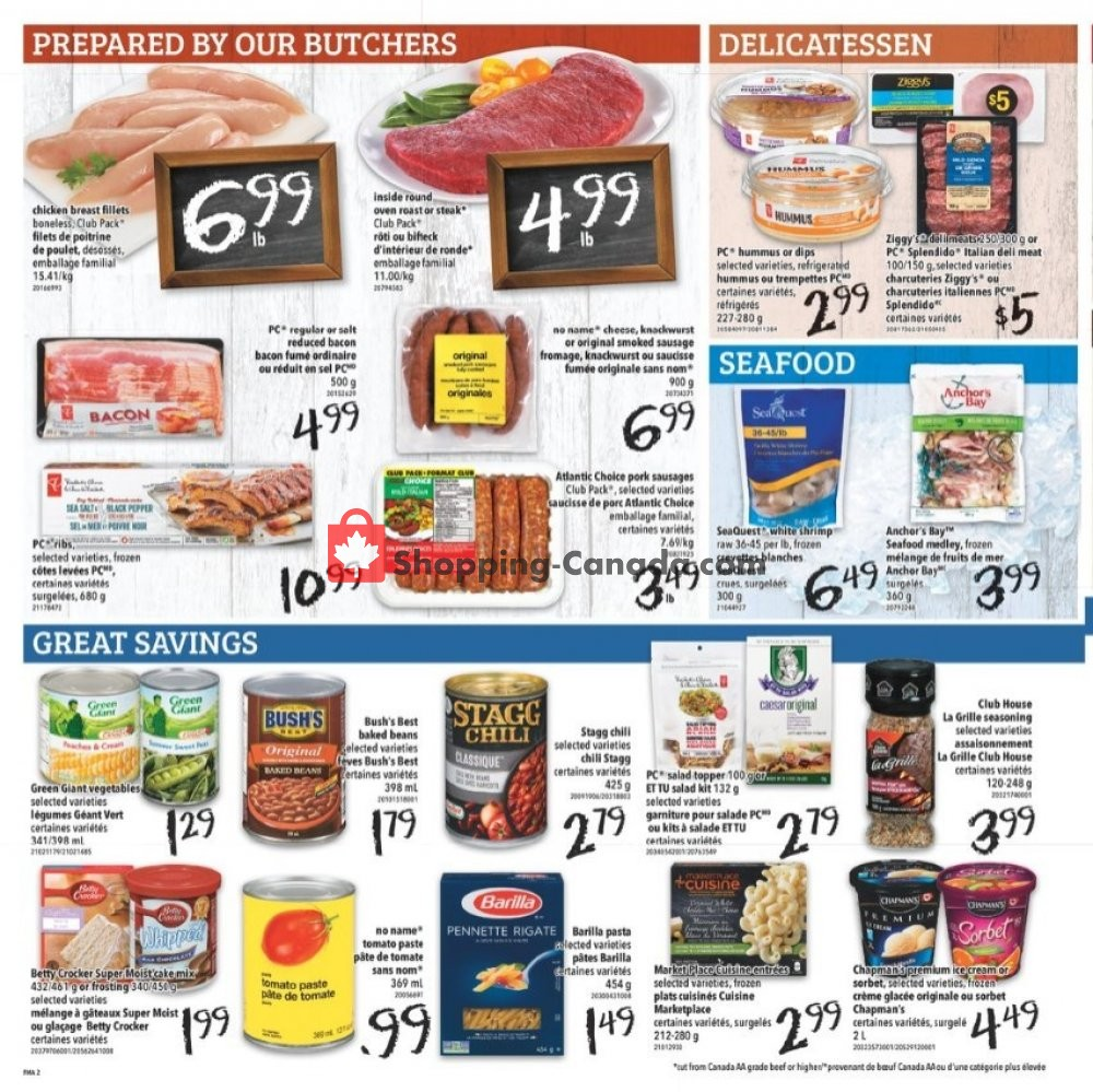 Flyer Freshmart Canada - from Thursday August 8, 2019 to Wednesday August 14, 2019