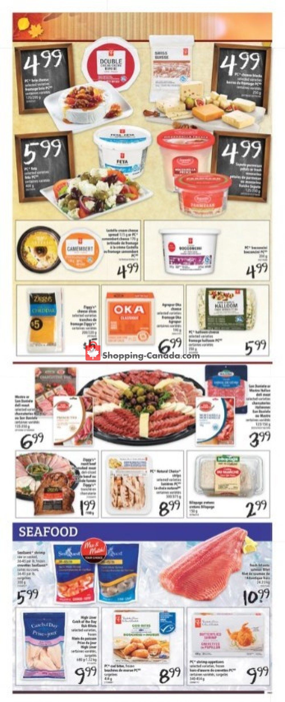 Flyer Freshmart Canada - from Thursday October 10, 2019 to Wednesday October 16, 2019