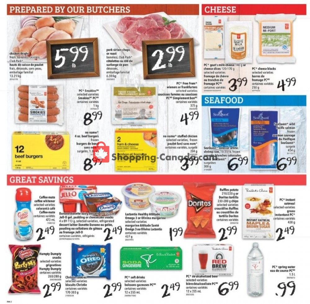 Flyer Freshmart Canada - from Thursday July 11, 2019 to Wednesday July 17, 2019