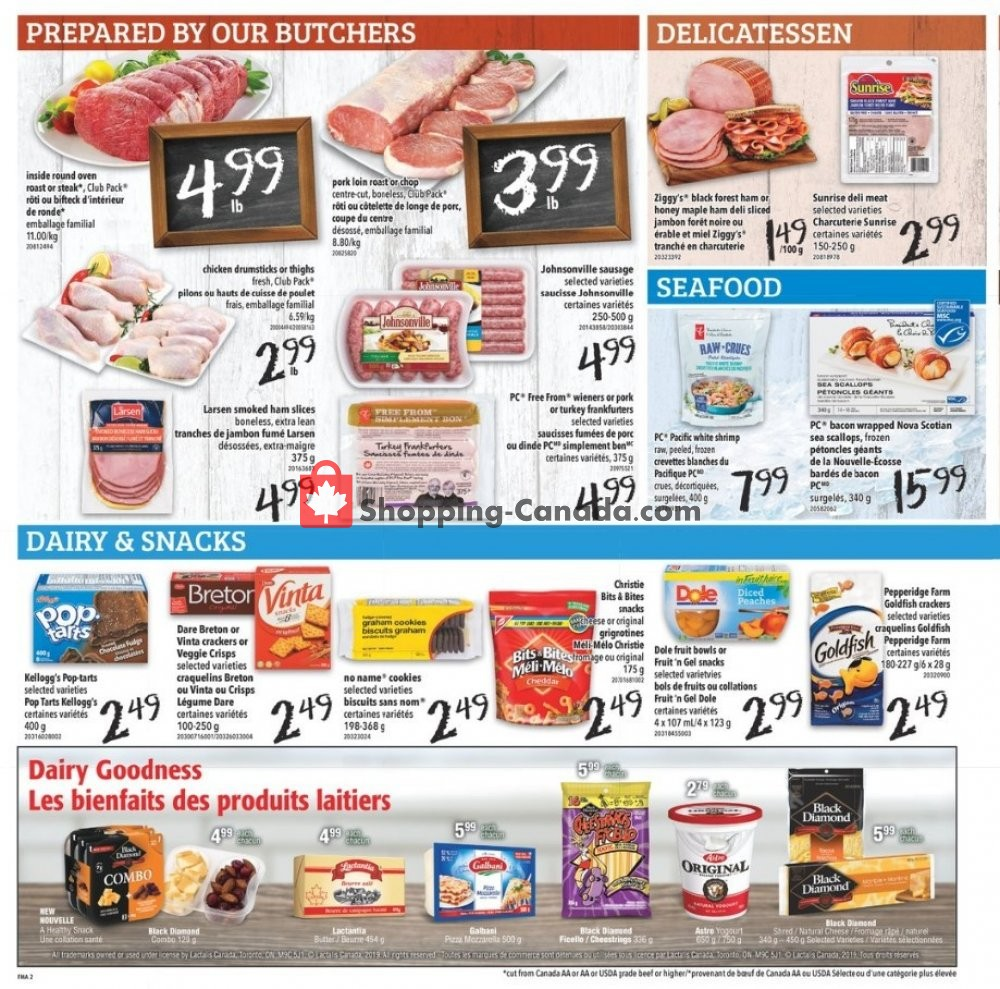 Flyer Freshmart Canada - from Thursday November 7, 2019 to Wednesday November 13, 2019