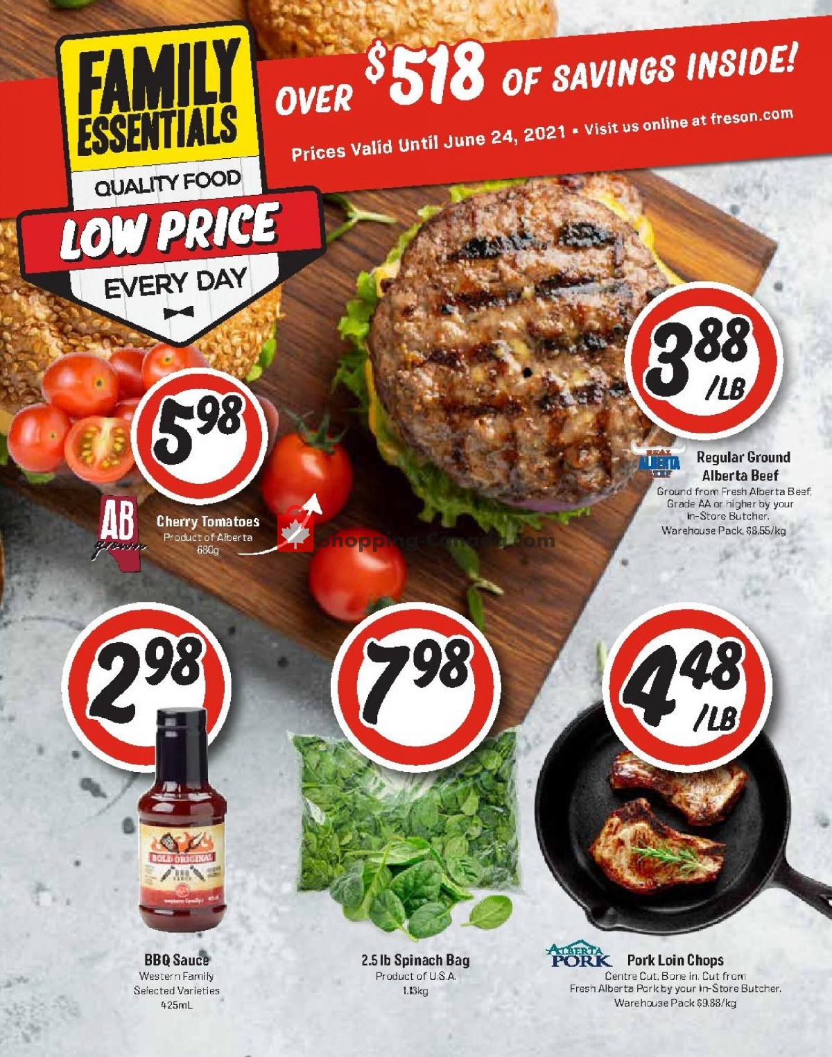 Flyer Freson Bros. Canada - from Friday April 30, 2021 to Thursday May 6, 2021