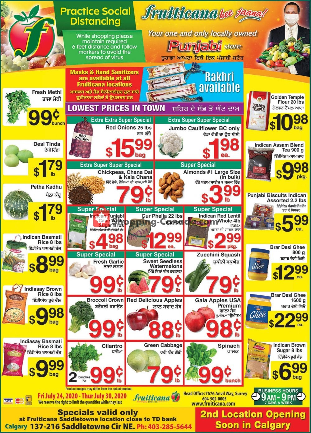 Flyer Fruiticana Canada - from Friday July 24, 2020 to Thursday July 30, 2020