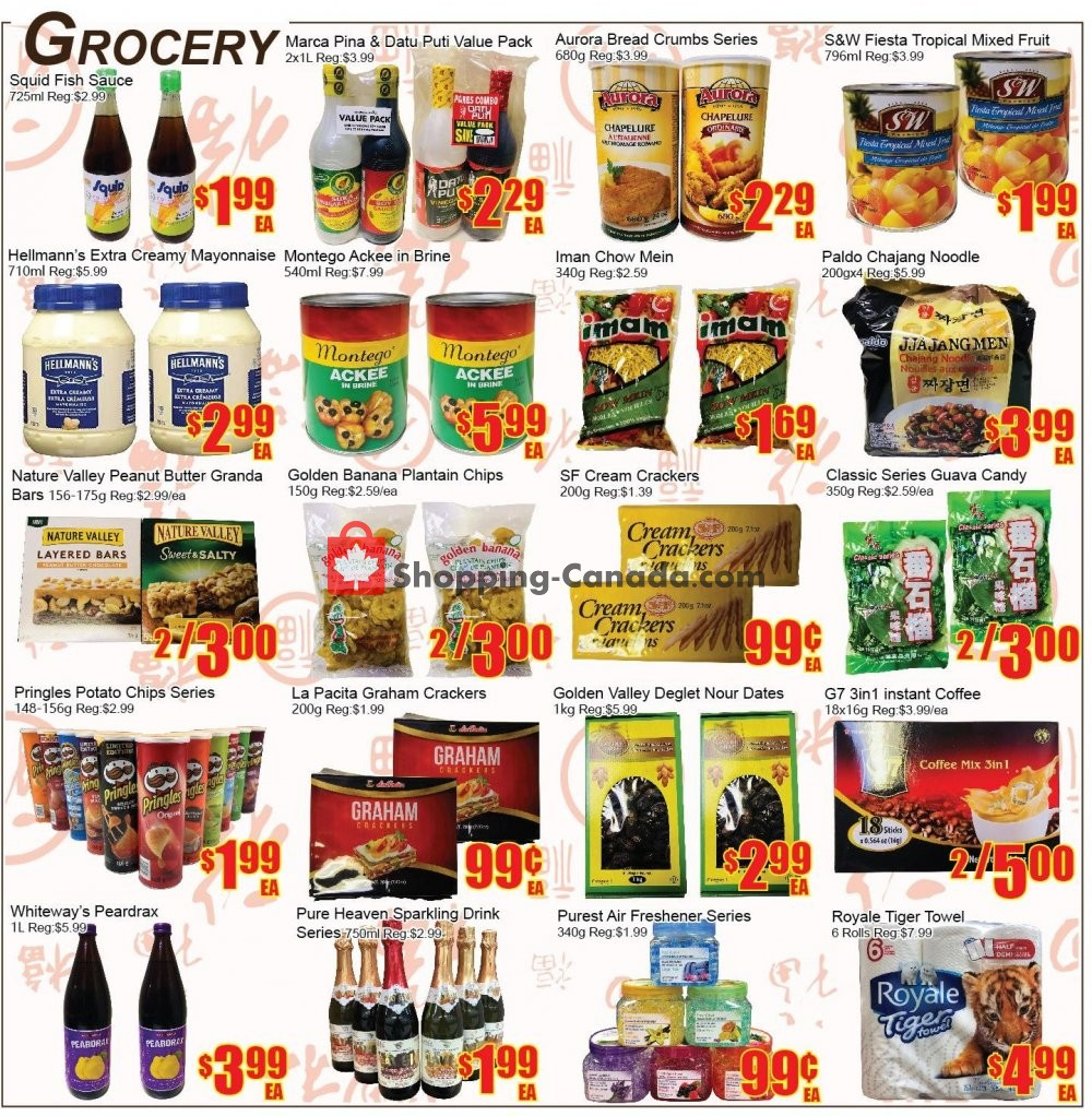 Flyer Fu Yao Supermarket Canada - from Friday December 7, 2018 to Thursday December 13, 2018