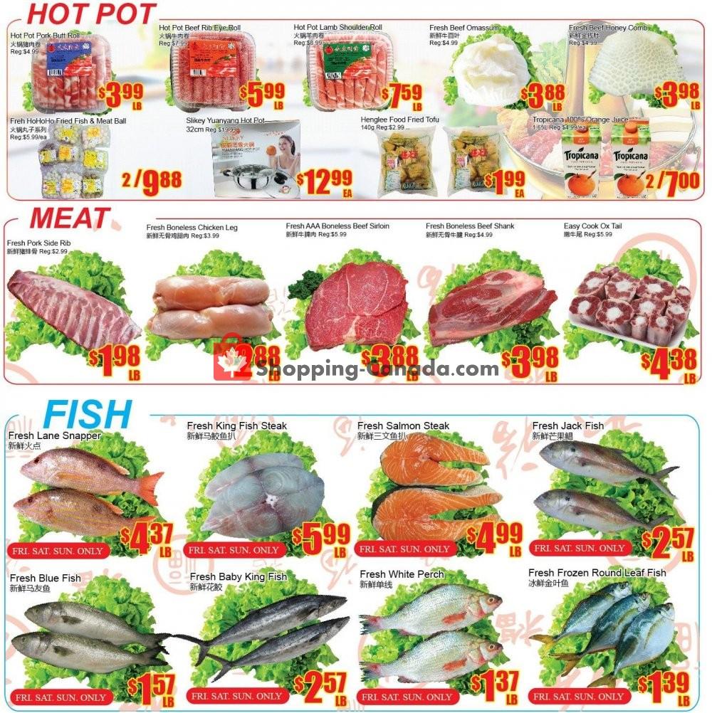 Flyer Fu Yao Supermarket Canada - from Friday December 7, 2018 to Thursday December 13, 2018