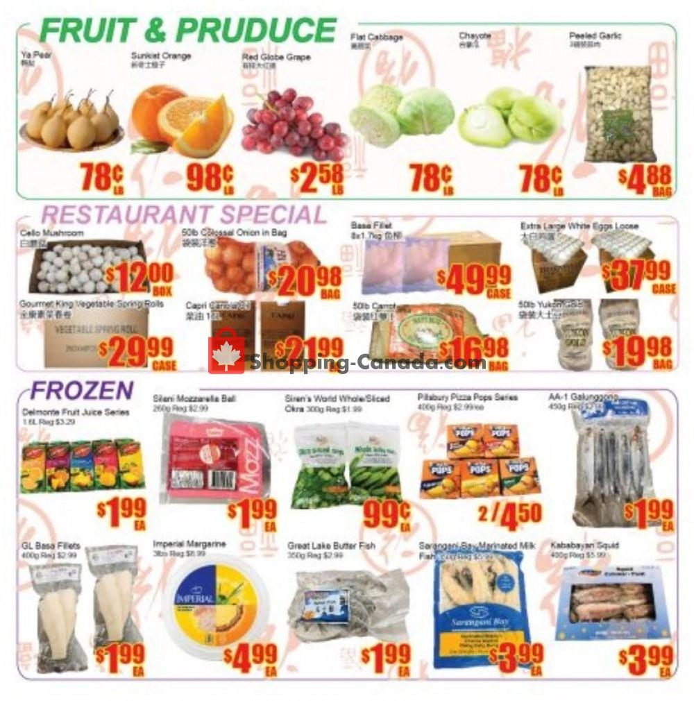 Flyer Fu Yao Supermarket Canada - from Friday January 10, 2020 to Thursday January 16, 2020