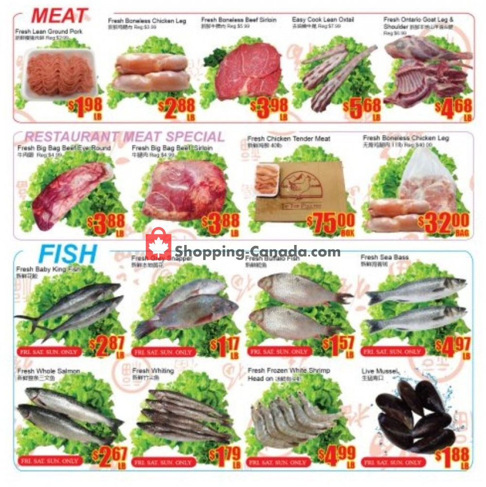 Flyer Fu Yao Supermarket Canada - from Friday January 10, 2020 to Thursday January 16, 2020