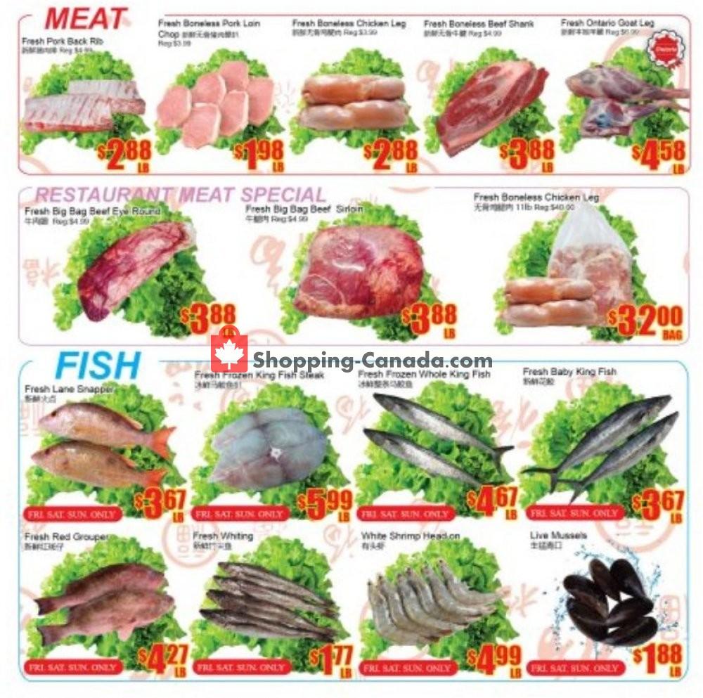 Flyer Fu Yao Supermarket Canada - from Friday October 4, 2019 to Thursday October 10, 2019