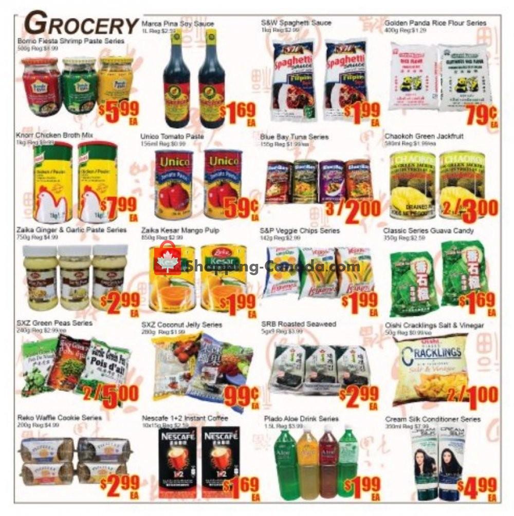 Flyer Fu Yao Supermarket Canada - from Friday July 19, 2019 to Thursday July 25, 2019