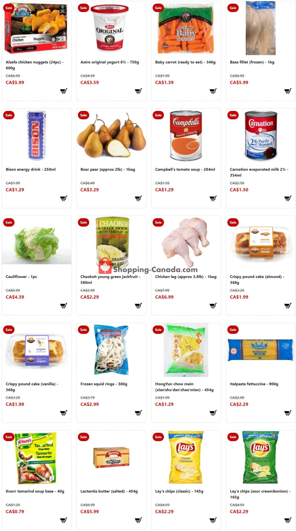 Flyer Fusion Grocery Canada - from Sunday July 18, 2021 to Saturday July 24, 2021