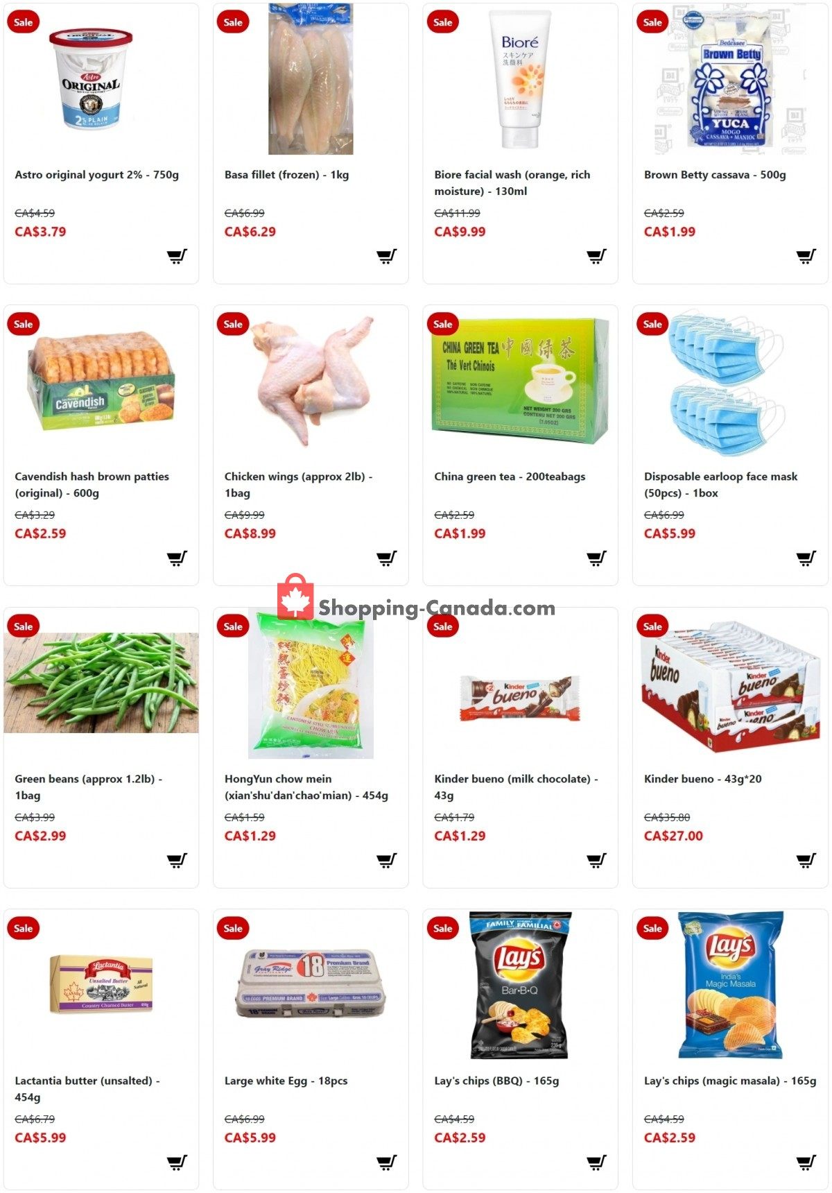 Flyer Fusion Grocery Canada - from Sunday April 4, 2021 to Saturday April 10, 2021