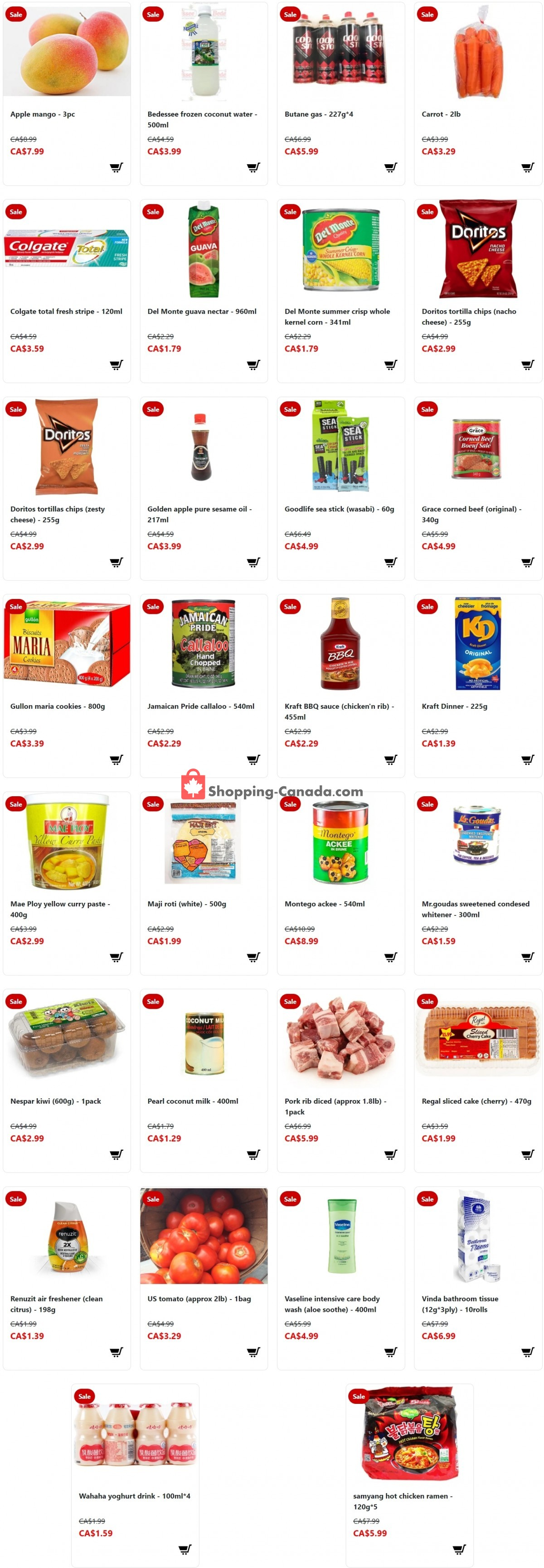 Flyer Fusion Grocery Canada - from Sunday May 2, 2021 to Saturday May 8, 2021