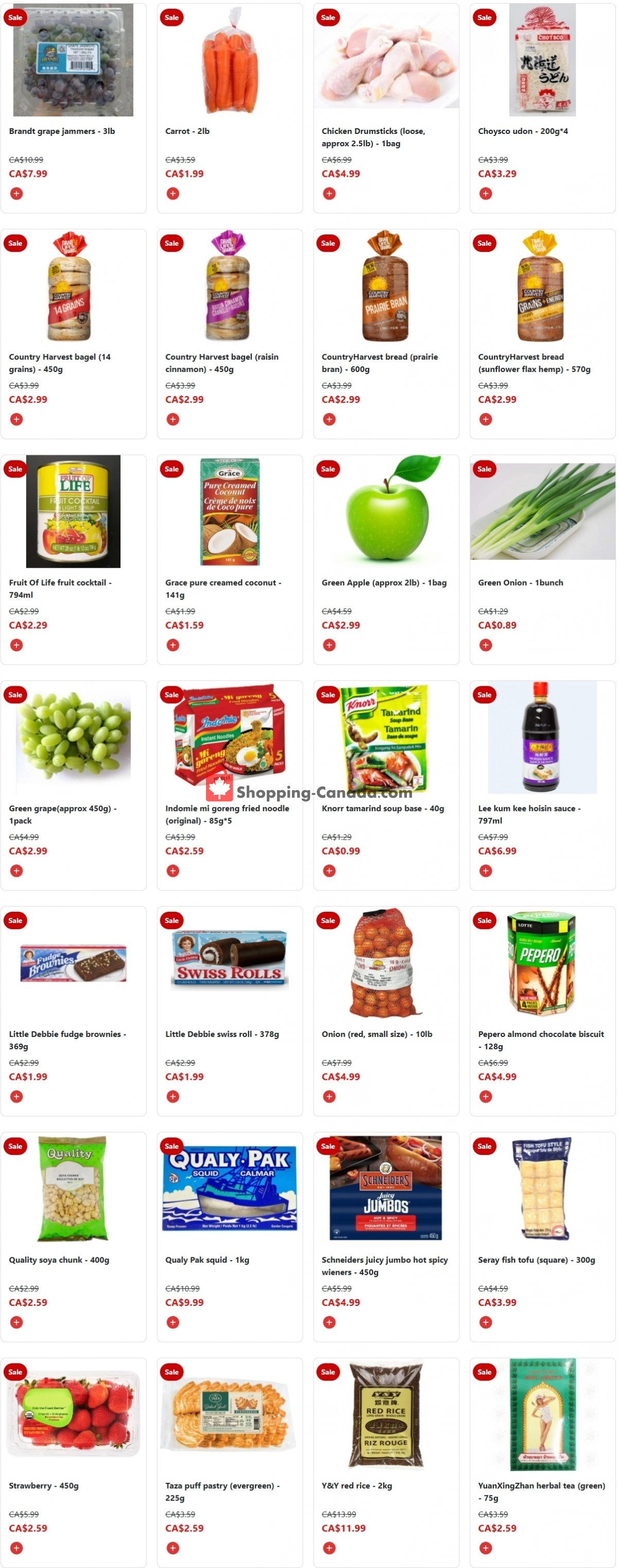 Flyer Fusion Grocery Canada - from Monday October 11, 2021 to Sunday October 17, 2021
