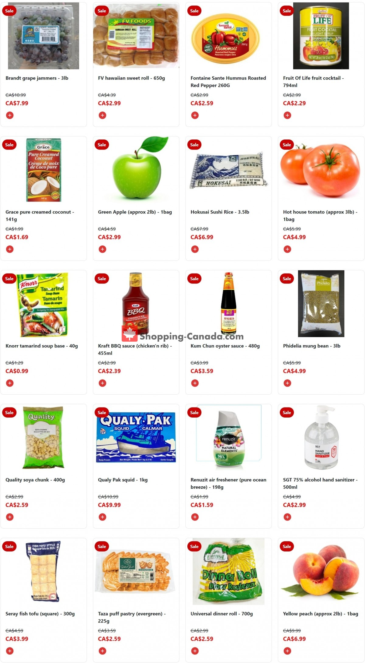 Flyer Fusion Grocery Canada - from Monday October 4, 2021 to Sunday October 10, 2021