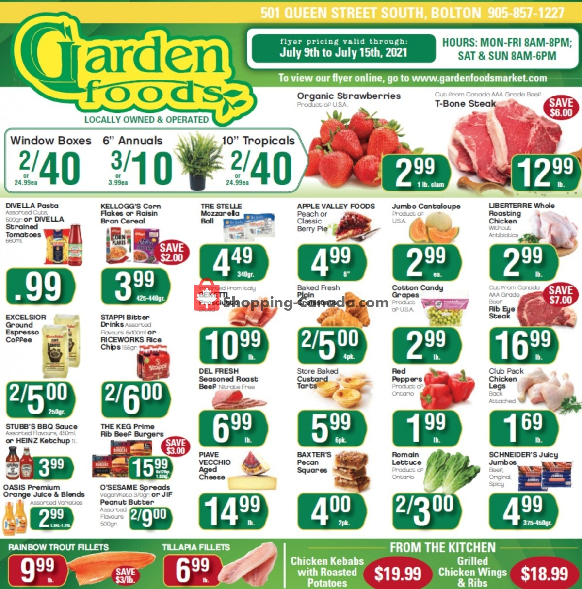 Flyer Garden Foods Canada - from Friday July 9, 2021 to Thursday July 15, 2021