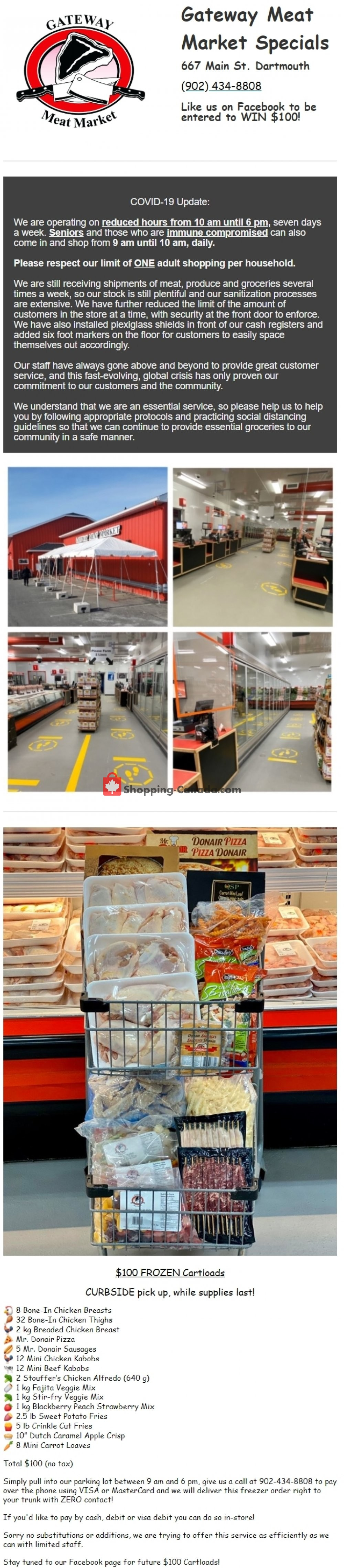 Flyer Gateway Meat Market Canada - from Thursday April 23, 2020 to Wednesday April 29, 2020