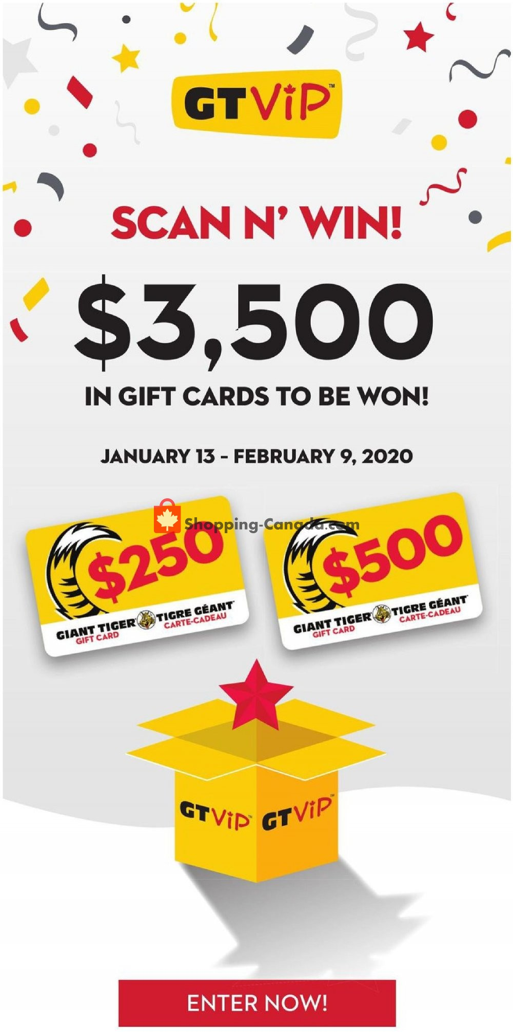 Flyer Giant Tiger Canada - from Wednesday January 15, 2020 to Tuesday January 21, 2020