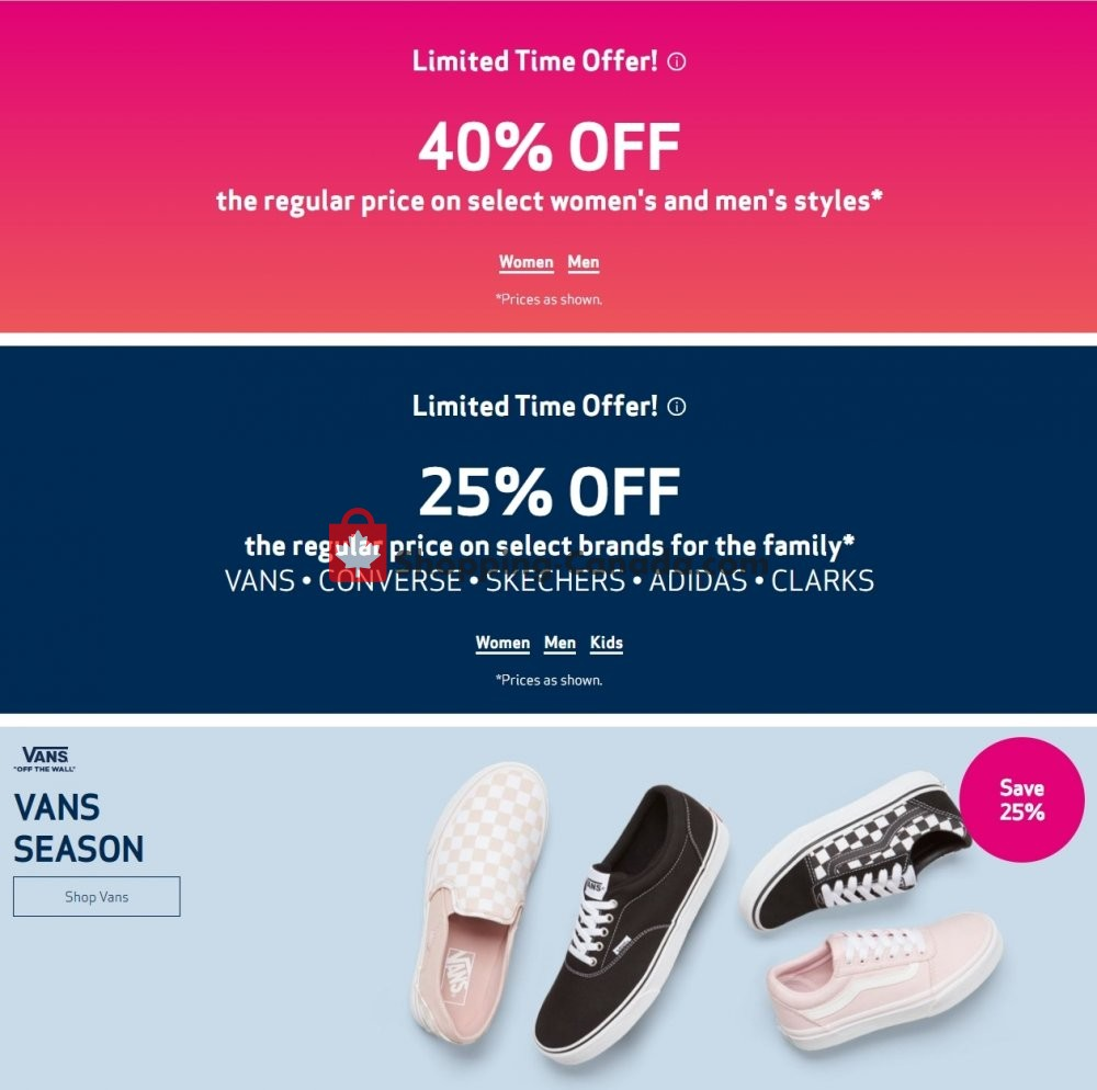 Flyer Globo Shoes Canada - from Wednesday April 22, 2020 to Tuesday April 28, 2020