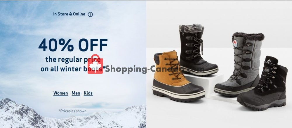 Flyer Globo Shoes Canada - from Wednesday January 29, 2020 to Tuesday February 4, 2020