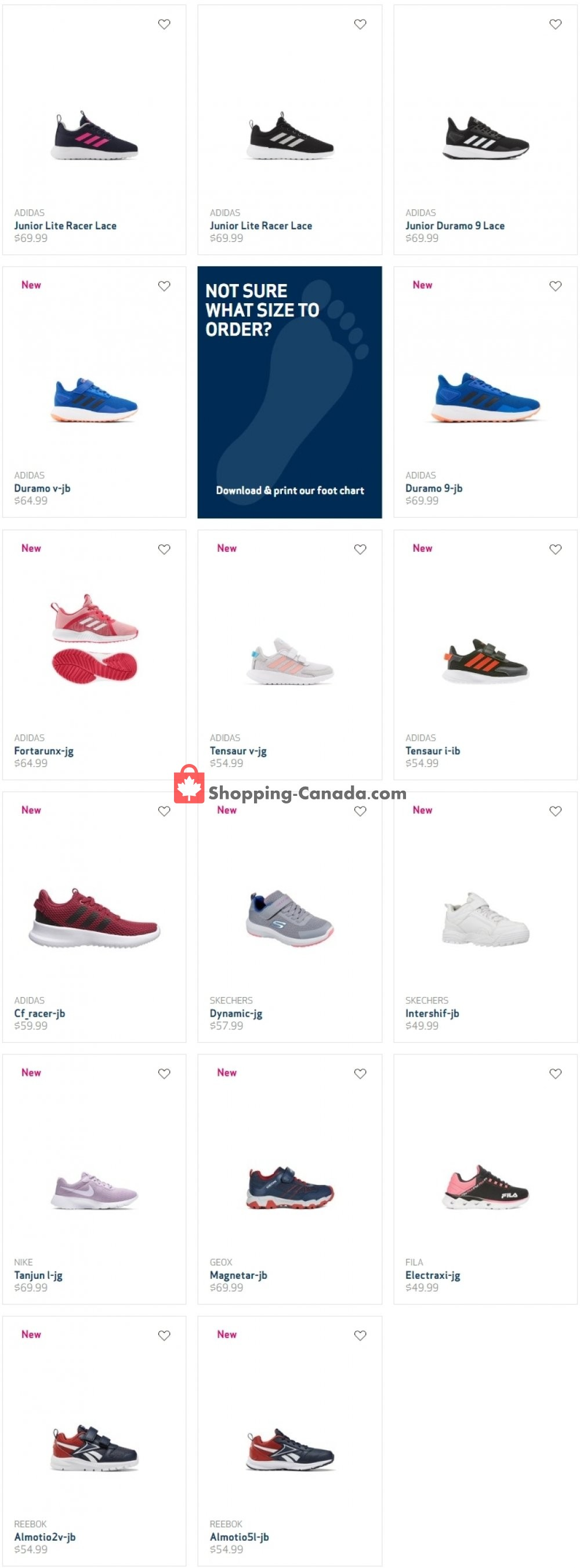 Flyer Globo Shoes Canada - from Wednesday August 5, 2020 to Tuesday August 11, 2020