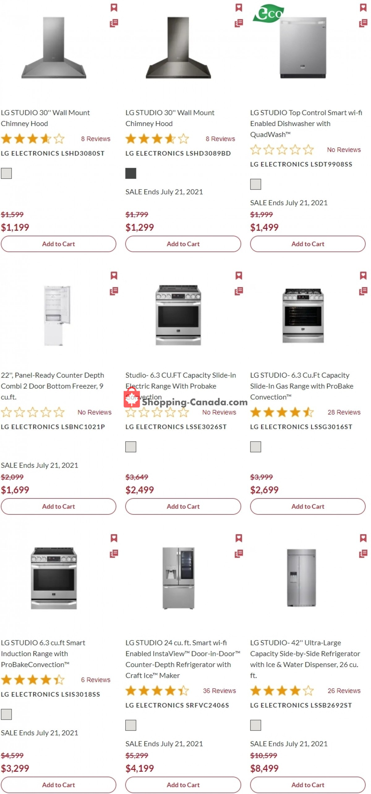 Flyer GOEMANS APPLIANCES Canada - from Thursday July 15, 2021 to Wednesday August 25, 2021