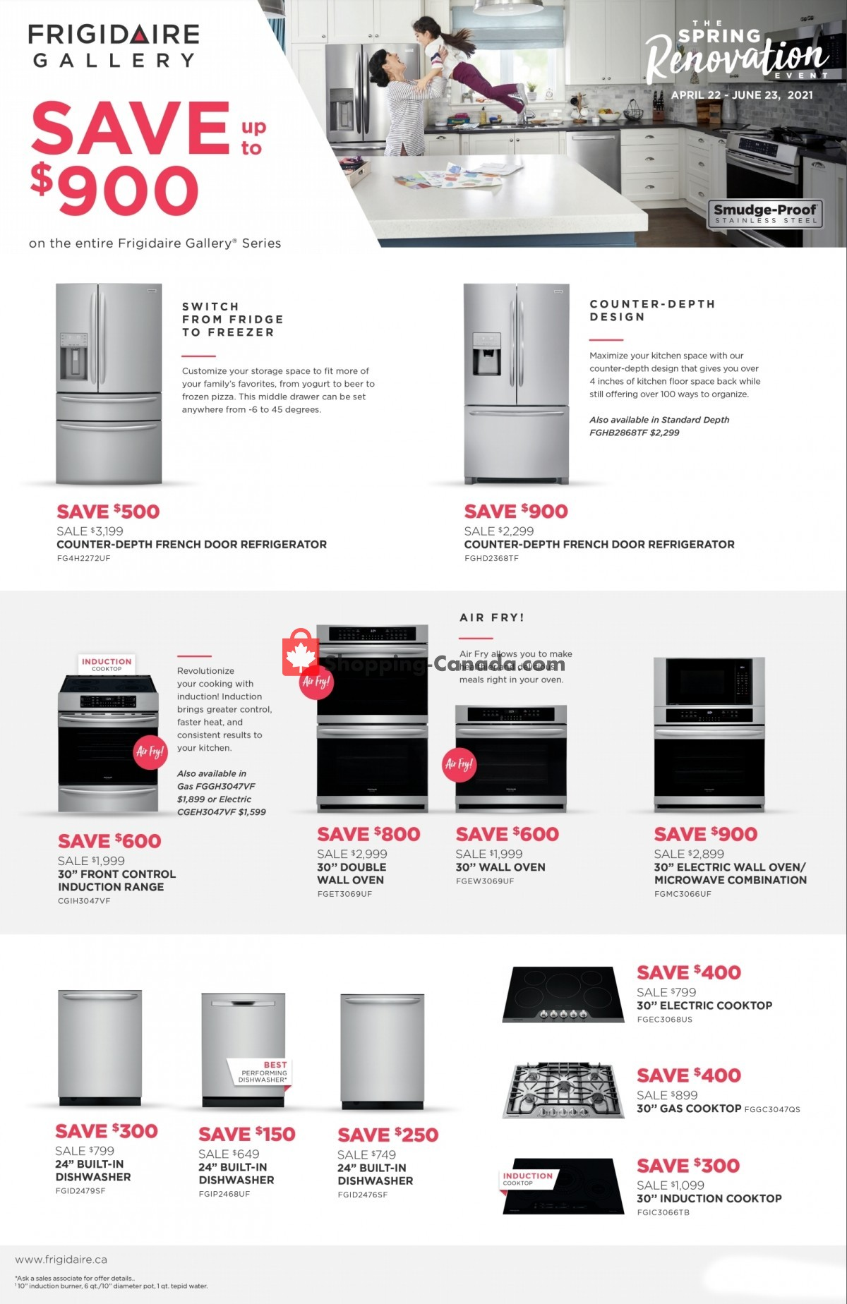 Flyer GOEMANS APPLIANCES Canada - from Thursday April 22, 2021 to Wednesday June 23, 2021