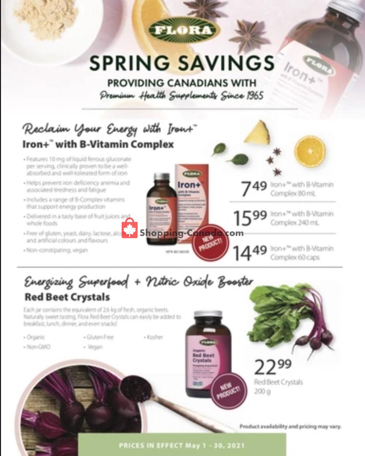 Flyer Good Health Mart Canada - from Saturday May 1, 2021 to Sunday May 30, 2021