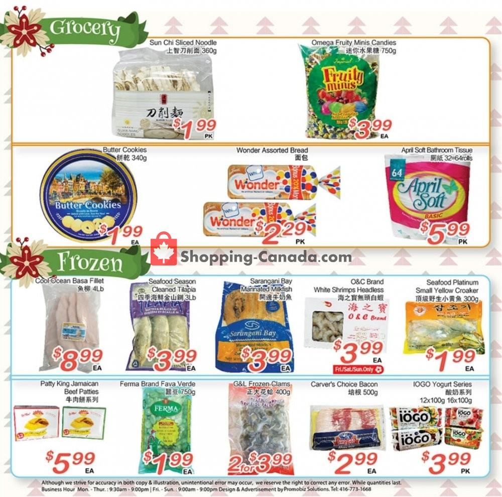 Flyer Grant's Foodmart Canada - from Friday January 10, 2020 to Thursday January 16, 2020