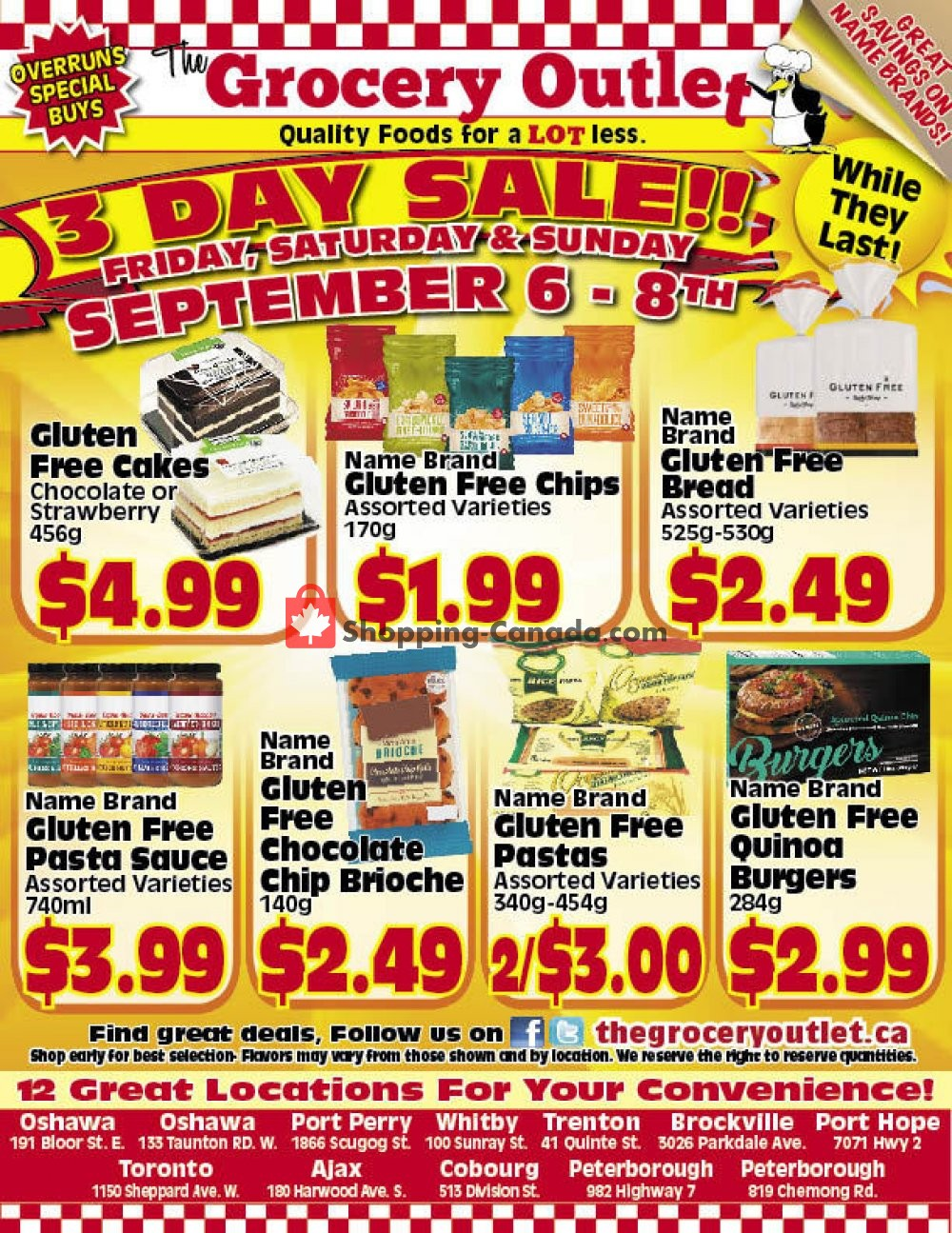 Flyer Grocery Outlet Canada - from Friday September 6, 2019 to Sunday September 8, 2019