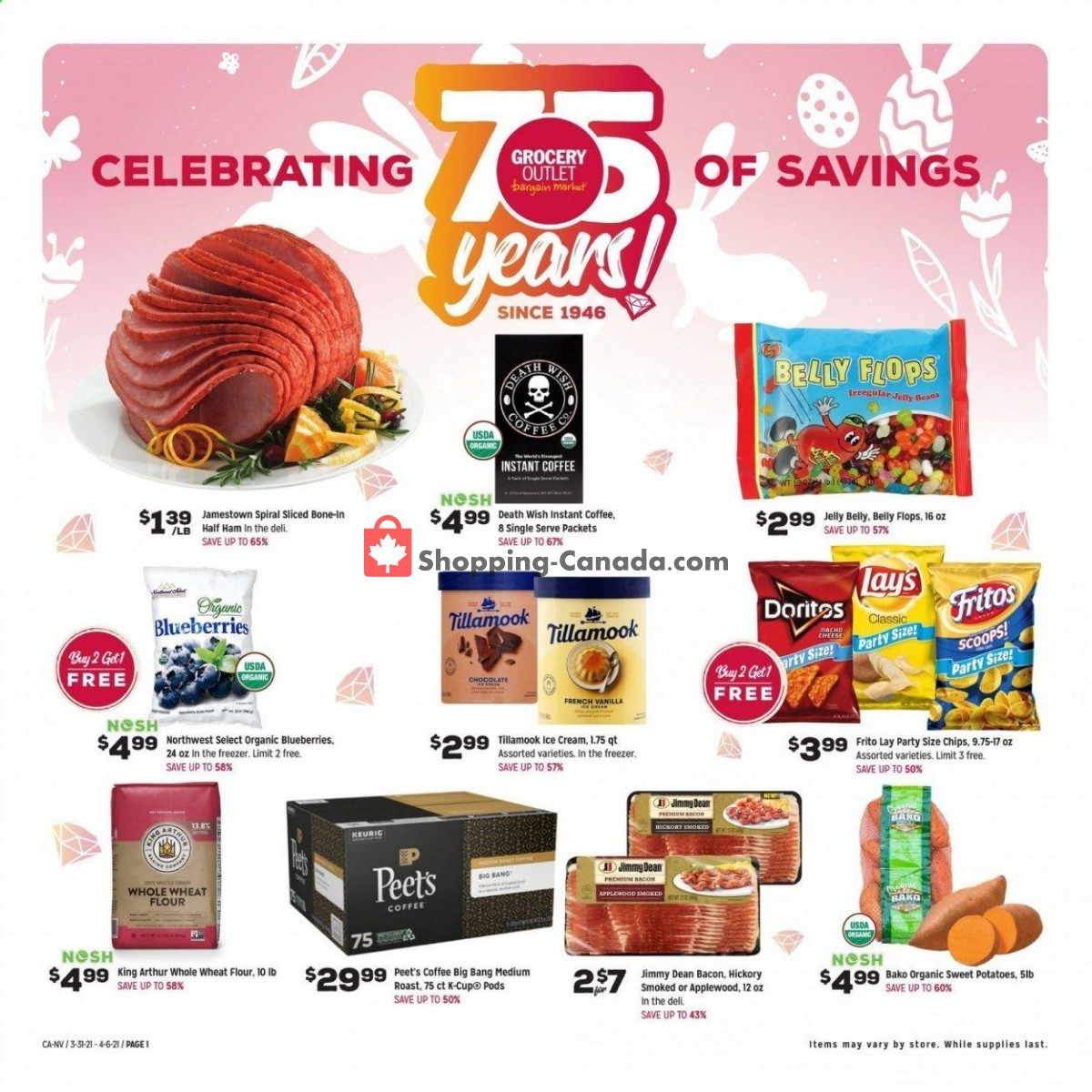 Flyer Grocery Outlet Canada - from Wednesday March 31, 2021 to Tuesday April 6, 2021