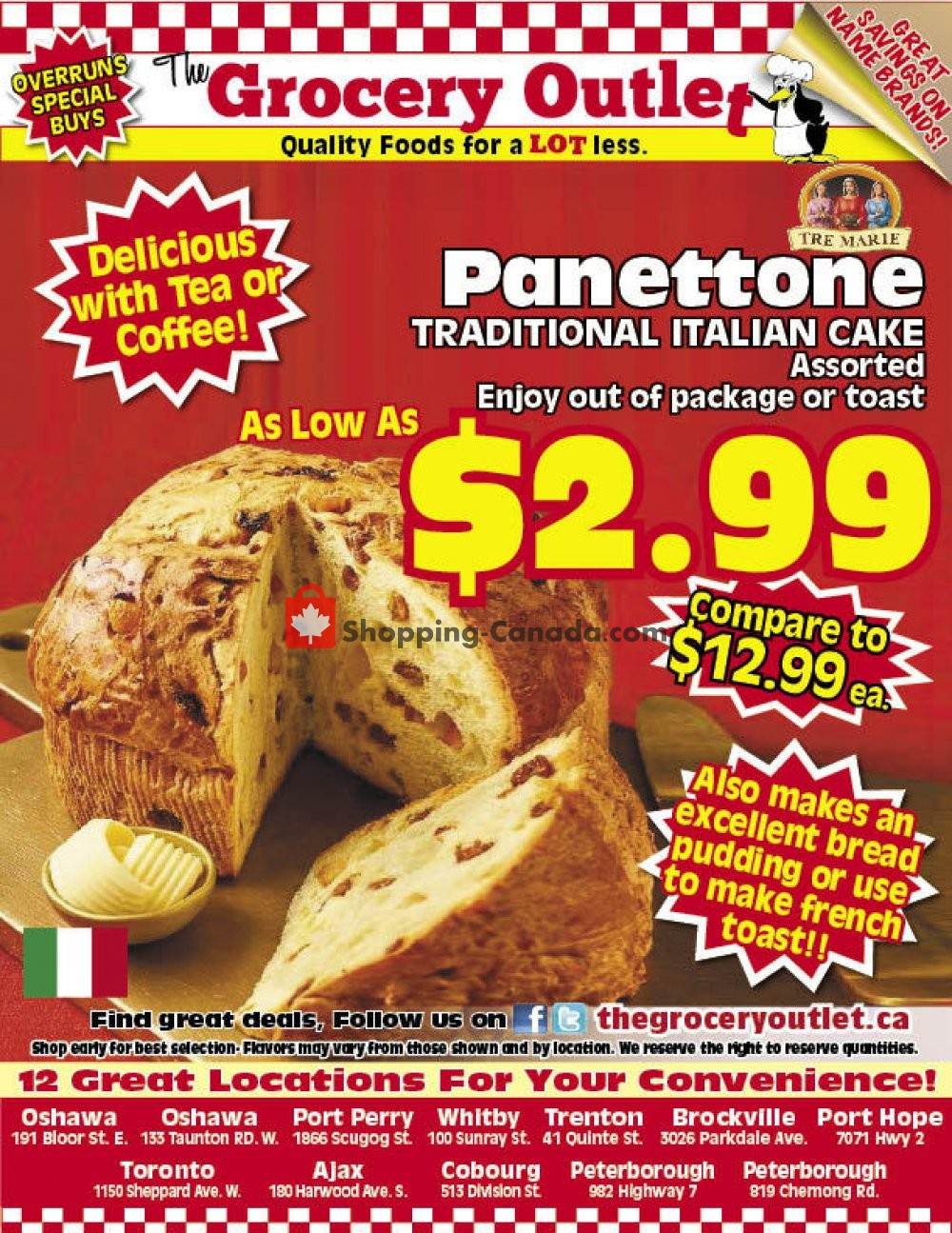 Flyer Grocery Outlet Canada - from Sunday February 2, 2020 to Tuesday February 4, 2020