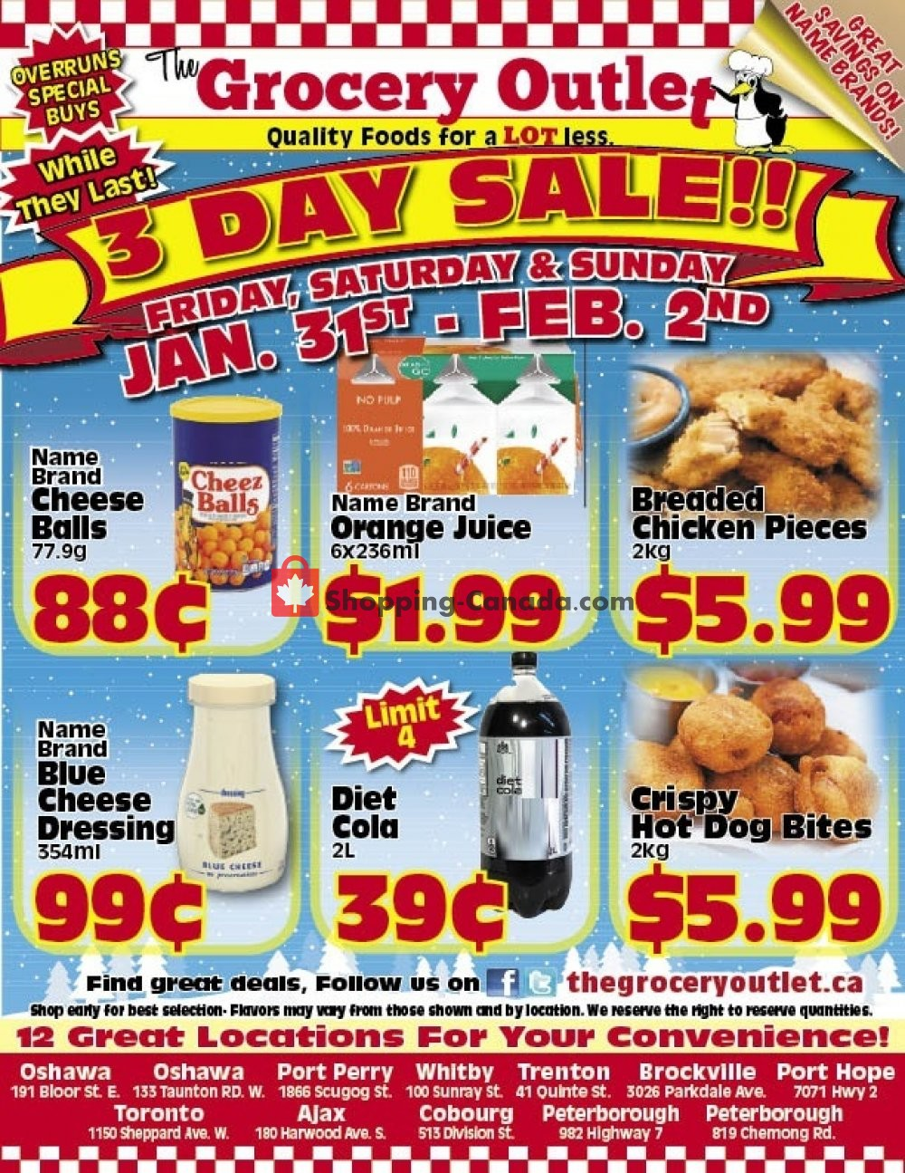 Flyer Grocery Outlet Canada - from Friday January 31, 2020 to Sunday February 2, 2020