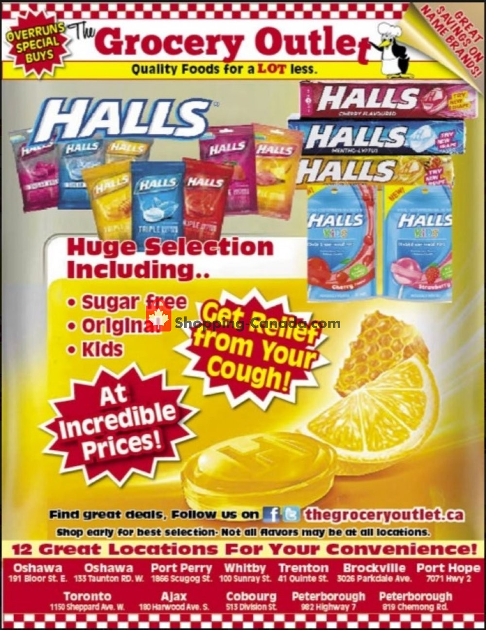 Flyer Grocery Outlet Canada - from Wednesday January 29, 2020 to Friday January 31, 2020