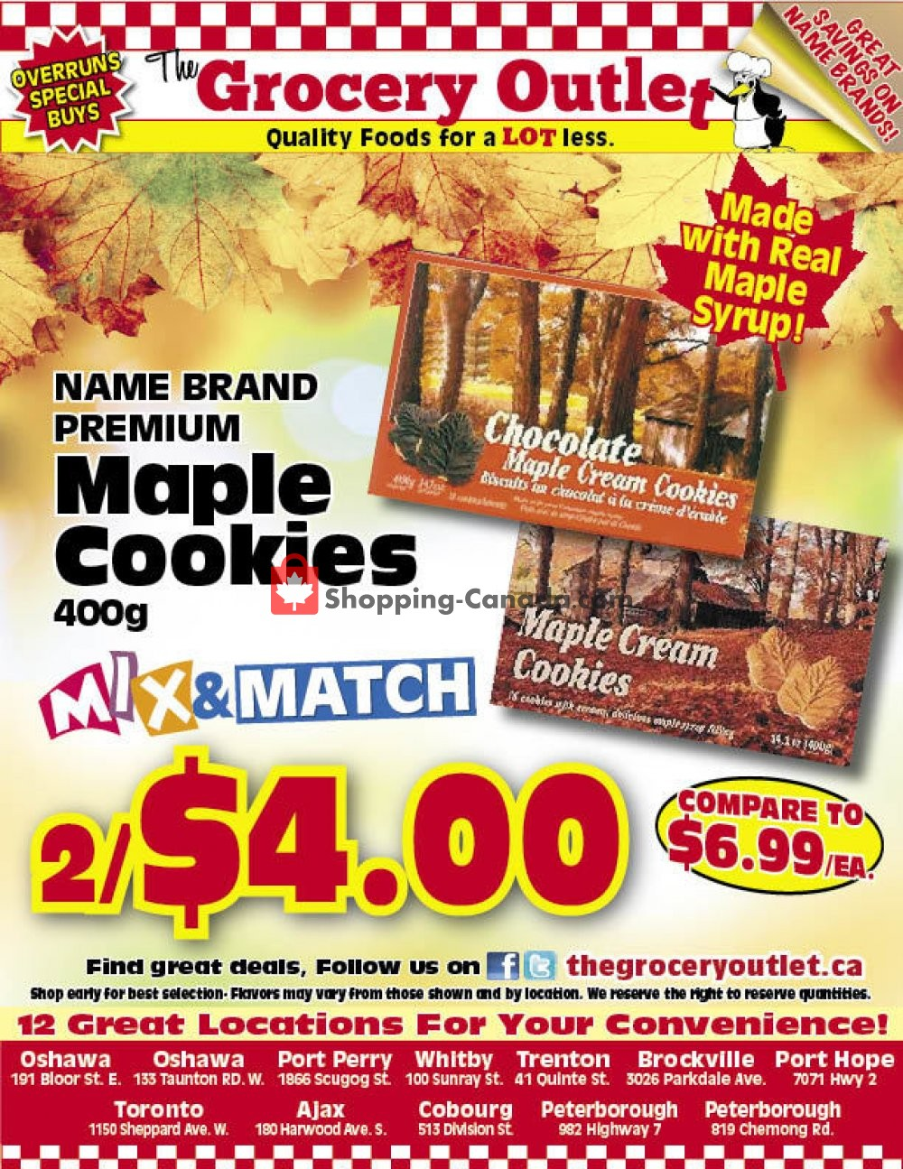 Flyer Grocery Outlet Canada - from Tuesday June 2, 2020 to Monday June 8, 2020