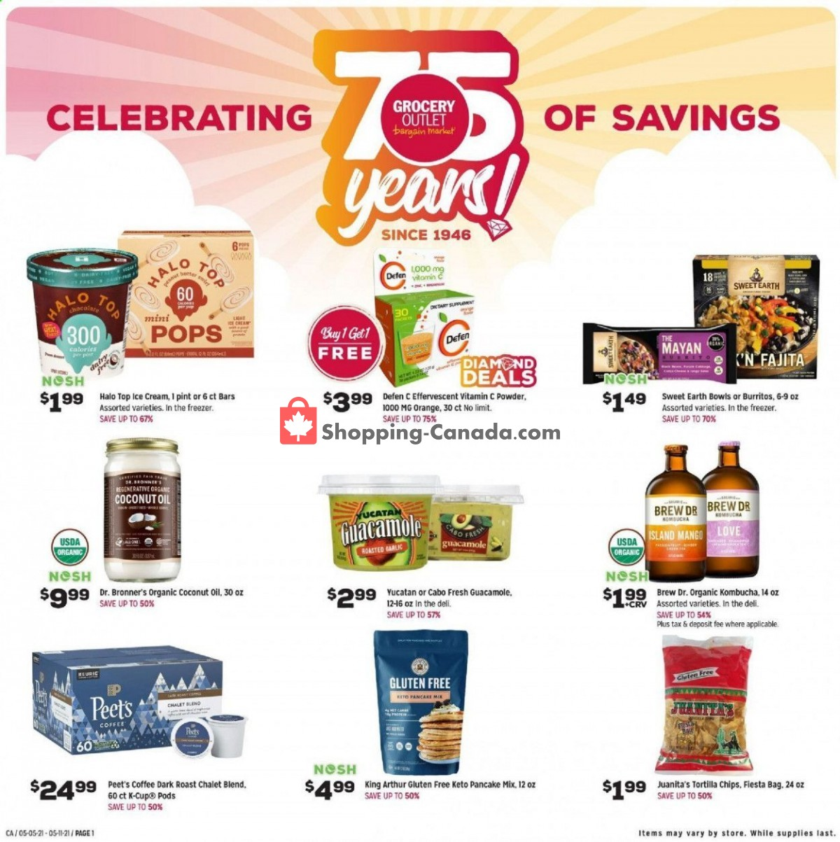 Flyer Grocery Outlet Canada - from Wednesday May 5, 2021 to Tuesday May 11, 2021