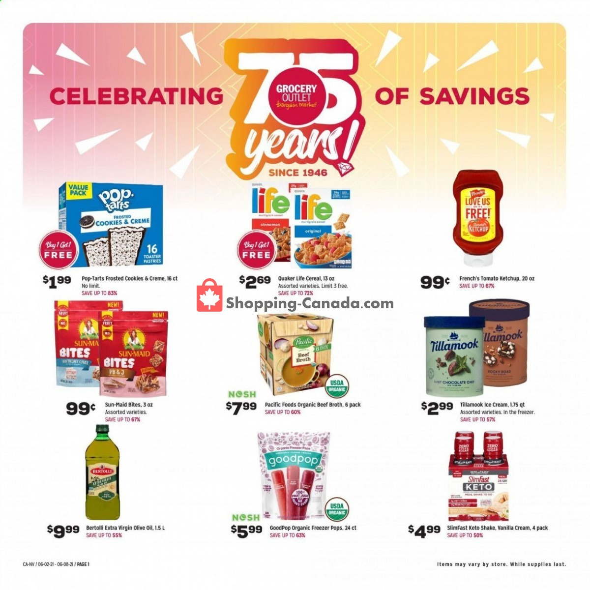 Flyer Grocery Outlet Canada - from Wednesday June 2, 2021 to Tuesday June 8, 2021