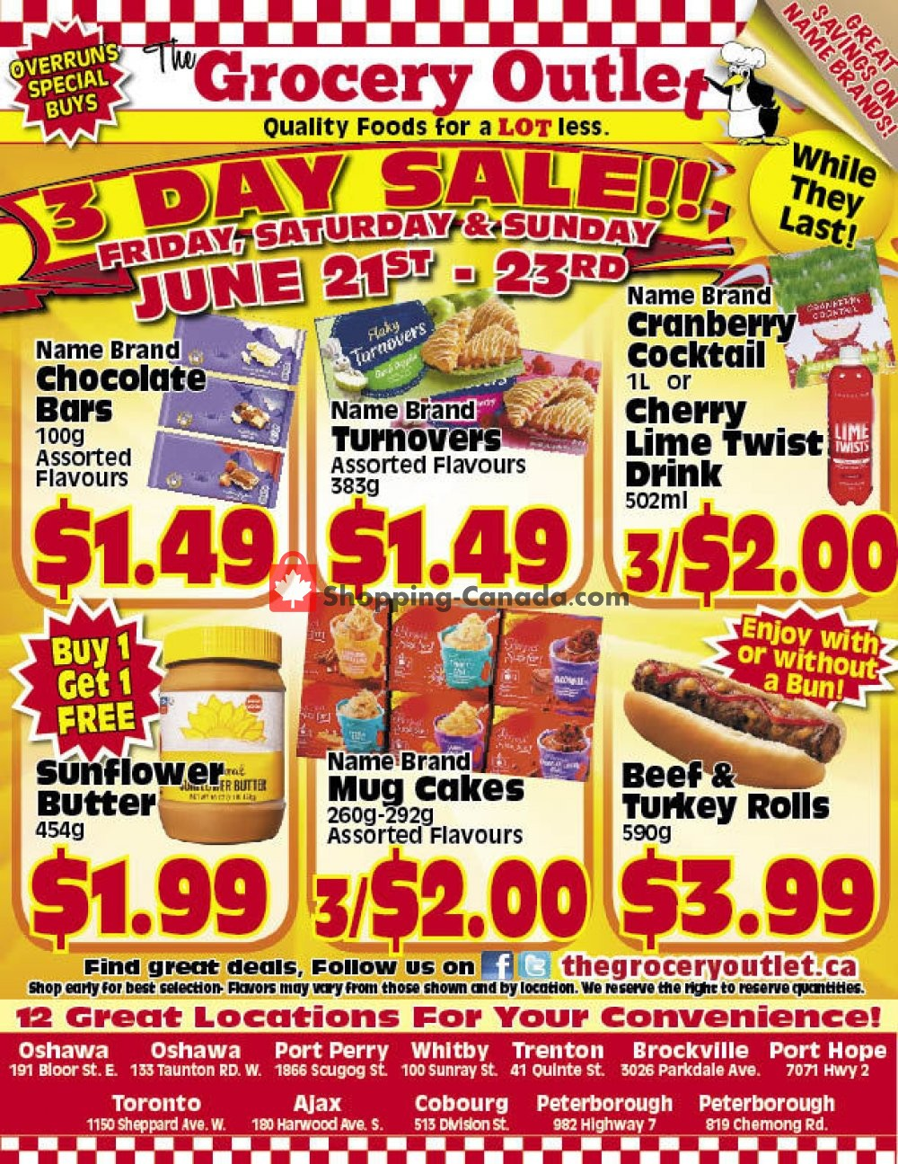Flyer Grocery Outlet Canada - from Friday June 21, 2019 to Sunday June 23, 2019