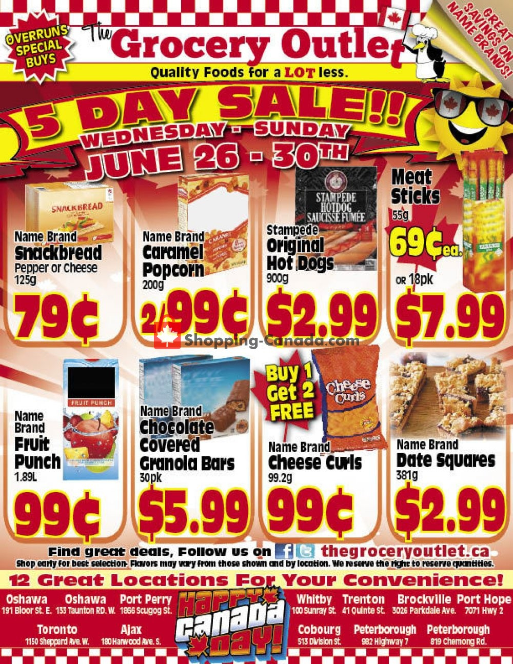 Flyer Grocery Outlet Canada - from Wednesday June 26, 2019 to Sunday June 30, 2019