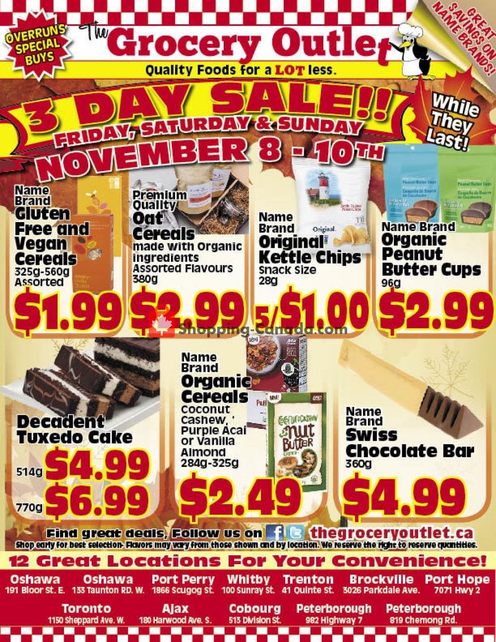 Flyer Grocery Outlet Canada - from Friday November 8, 2019 to Sunday November 10, 2019