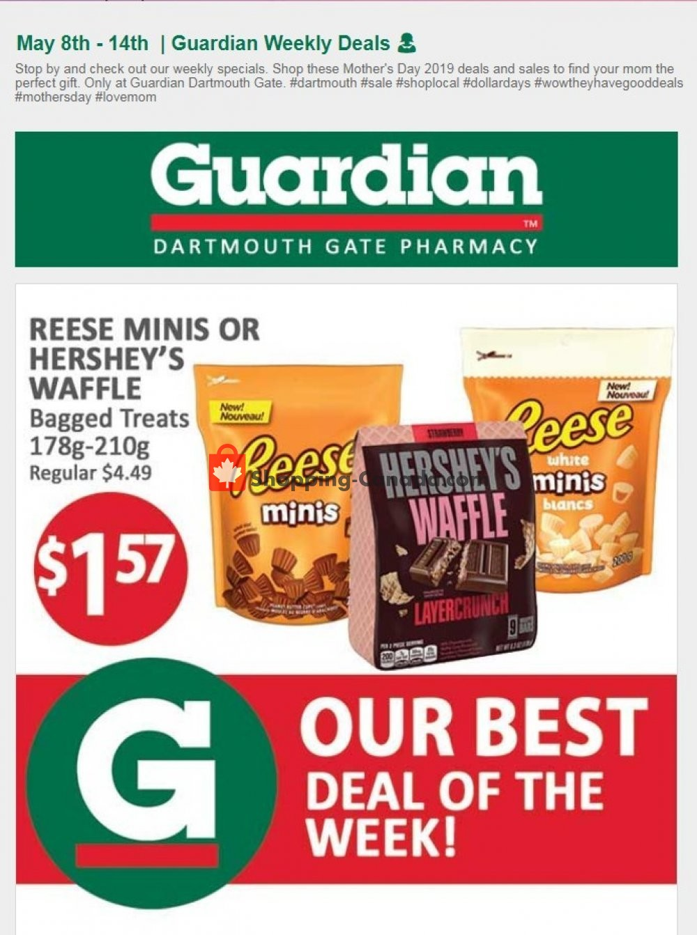 Flyer Guardian Canada - from Wednesday May 8, 2019 to Tuesday May 14, 2019