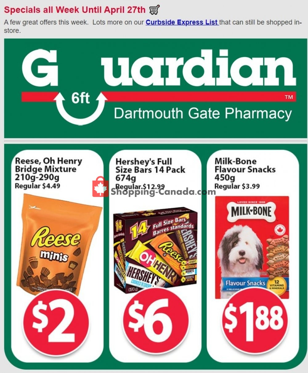 Flyer Guardian Canada - from Tuesday April 21, 2020 to Monday April 27, 2020