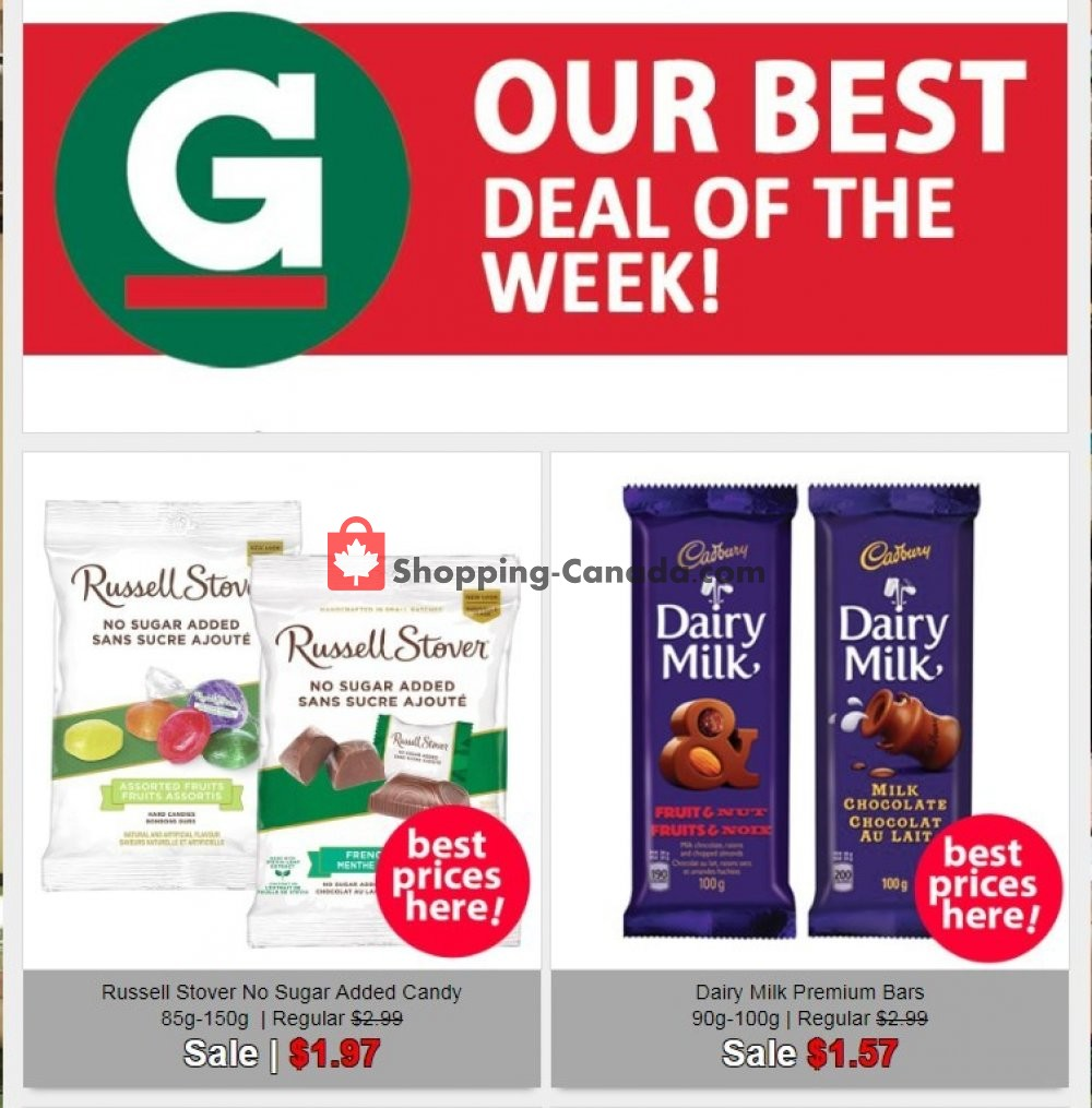 Flyer Guardian Canada - from Wednesday July 24, 2019 to Tuesday July 30, 2019