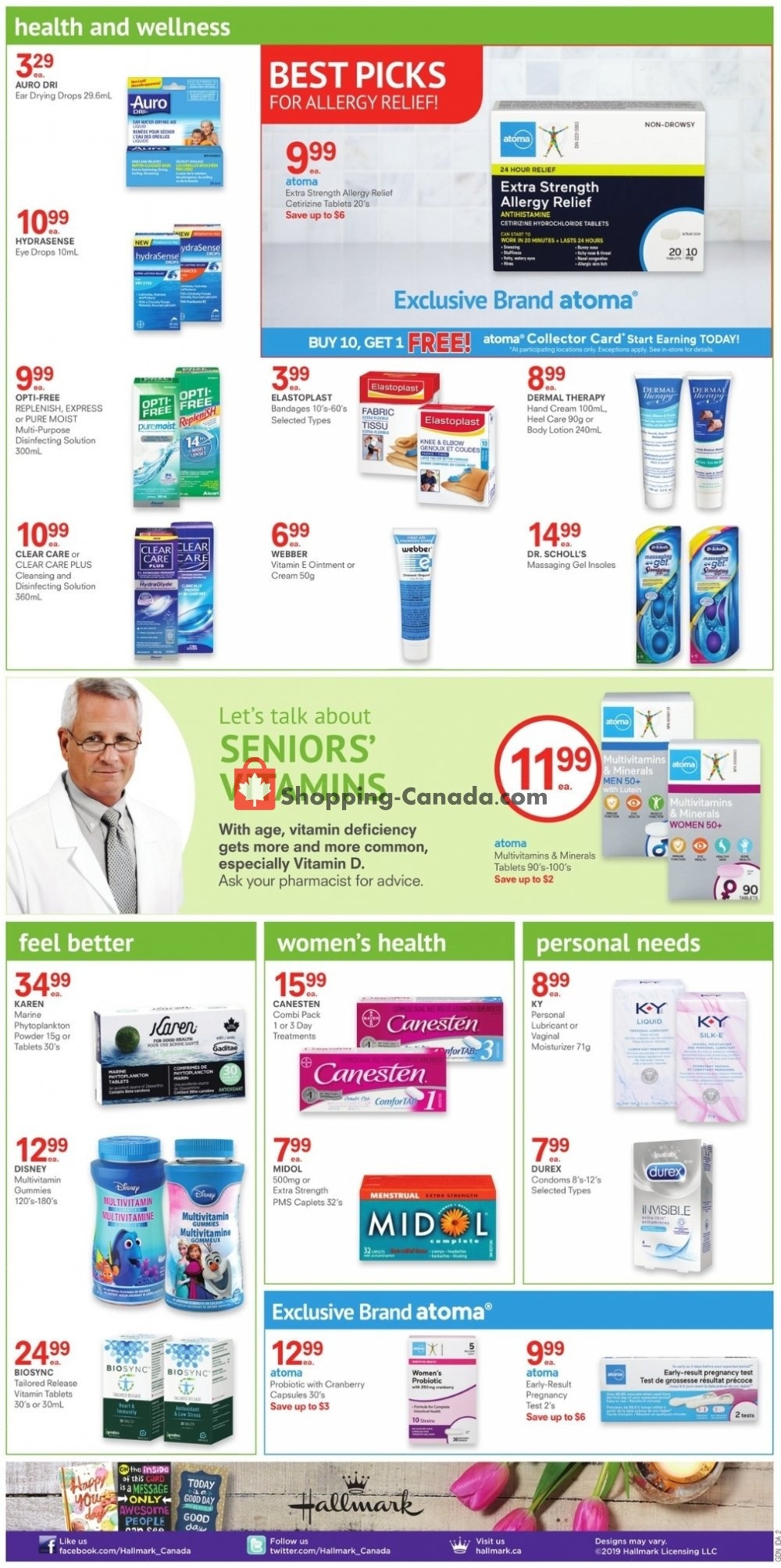 Flyer Guardian Canada - from Friday August 9, 2019 to Thursday August 15, 2019