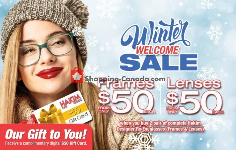 Flyer Hakim Canada - from Tuesday December 10, 2019 to Monday December 16, 2019