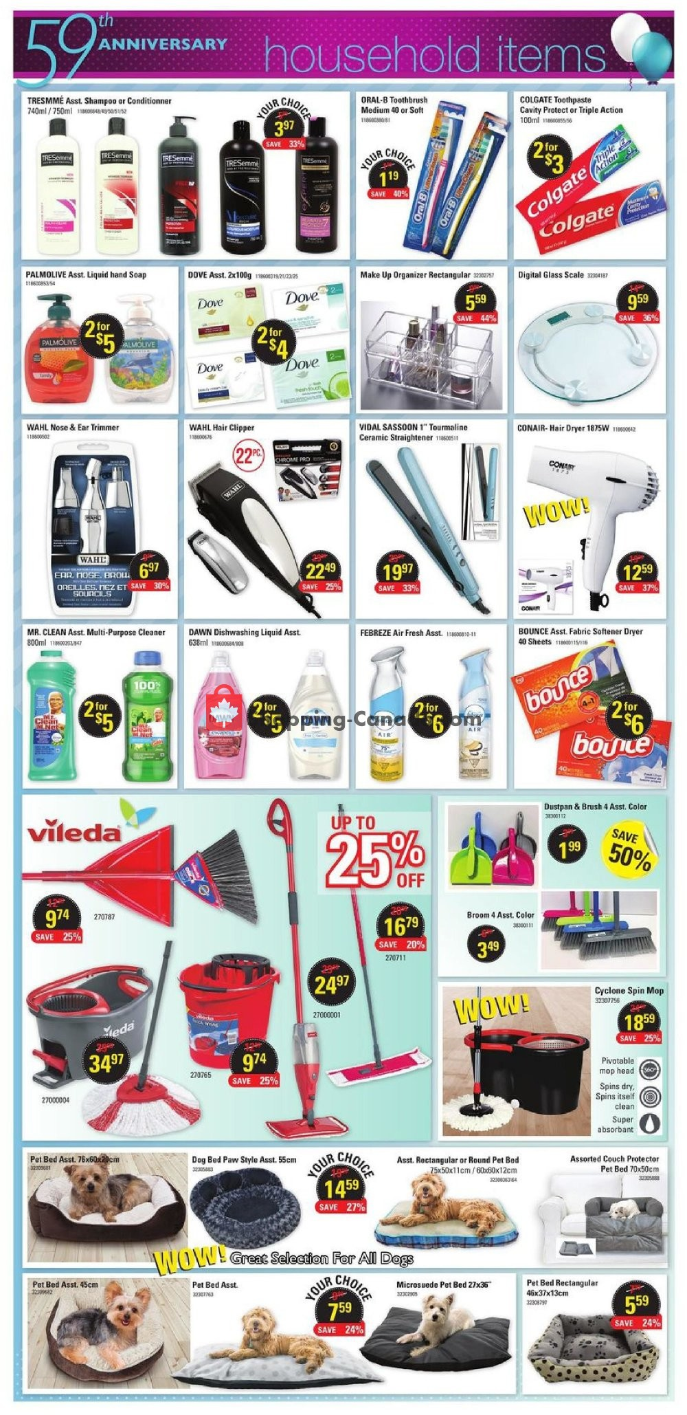 Flyer Hart Canada - from Wednesday August 7, 2019 to Tuesday August 20, 2019